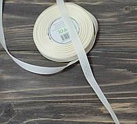 Лента репс в  горох 1,2 см. айвори, фото 1