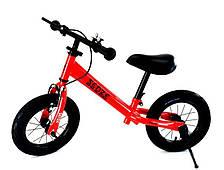 Беговел велобег рост от 90 до 120 см вес до 50 кг Senze красный