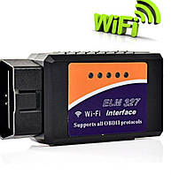 Универсальный сканер адаптер для диагностики авто Wi-Fi ELM327 OBD2 V1.5