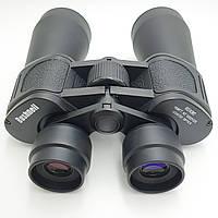 Бинокль Bushnell 60x90 с чехлом прорезиненный корпус 20 крат оптика для наблюдения черный
