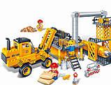 Конструктор BANBAO 8533 будівельний майданчик, транспорт інерц., 315 дет., фігурки 4 шт., кор., 37,5, фото 2