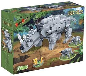 Конструктор BANBAO 6851  динозавр, 295 дет., кор., 33-24-7 см.