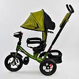 Велосипед BEST TRIKE 7700B-9570 зеленый (с пультом), фото 2