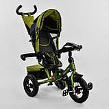 Велосипед BEST TRIKE 7700B-9570 зеленый (с пультом), фото 5