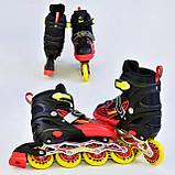 Ролики BEST ROLLER А 25499/08305 L 38-41 красный, фото 2