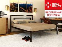Кровать Брио-1/Brio-1 140*190 металлическая LOFT, фото 1
