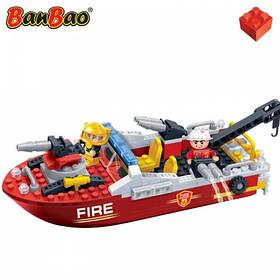 Конструктор BANBAO 7105 пожежний катер, фігурки, 198 дет., кор., 33-24-7 см