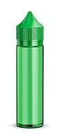 Флакон Gorilla v3 (Китай) Зеленый, 60 мл.