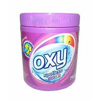 Бесфосфатный Концентрированный кислородный пятновыводитель OXY Spotless Color 750 мл