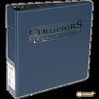 Альбом 'Ultra-Pro' (для листов 2,5х3,5 (3х3 кармашка на листе): синий (23778)