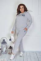 Прогулочный костюм женский весенний трикотаж батал 48-50 52-54 56-58 60-62 размер Новинка 2020 есть цвета