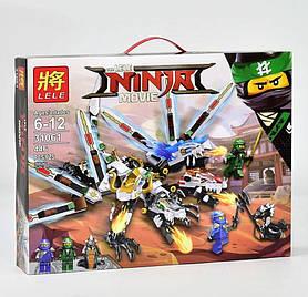 Конструктор LELE 31061 NINJAGO -  Трехглавый дракон (446 дет.)