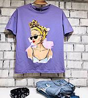 Женская футболка / Турция 35-20Y314, фото 1
