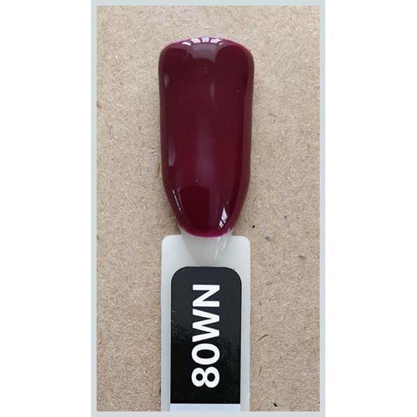 Гель-лак Kodi Professional 80WN , Бордо, емаль