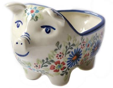 Керамическая форма Свинка для соусов и дипов  Justine