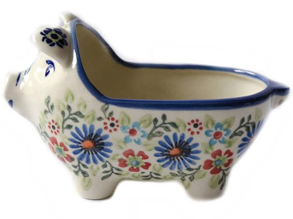 Керамическая форма Свинка для соусов и дипов  Justine, фото 2