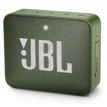Акустическая система JBL GO 2 Green (JBLGO2GRN)