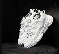 Кроссовки Adidas Ozweego белые /  Адидас Озвиго белый . Все размеры .