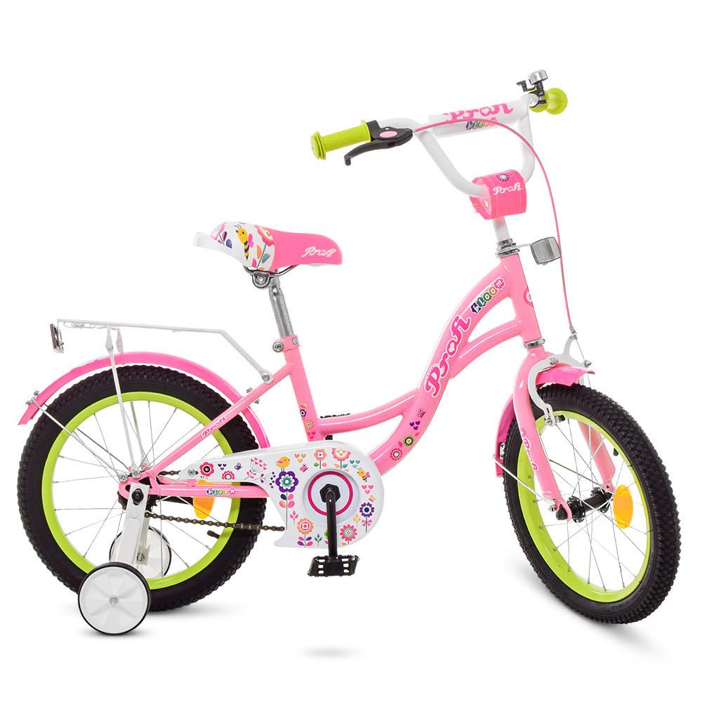 Велосипед PROF1 Y1621-1 Bloom (16 дюймов)