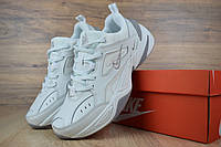 Женские кроссовки в стиле Nike M2K Tekno, белые с серым 36 (23 см)