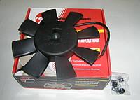 Вентилятор охл. радиат. в сб. /2101-09/ с мотор. 8-ми лоп. без диф.на подшип.