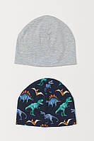 Детские двухслойные шапочки для мальчика (поштучно)