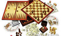 Лото, домино, шашки, шахматы, нарды