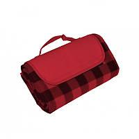 Плед (коврик, подстилка) Picnic для пикника непромокаемый, красный