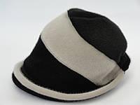 Шляпа женская из искусственной нерпы Колокольчик