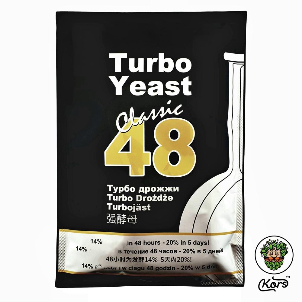 Сухие турбо дрожжи 48 Turbo Yeast Classic