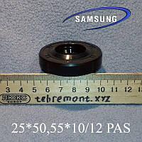 """Сальник 25*50,55*10/12 """"PAS"""" для пральної машини Samsung"""