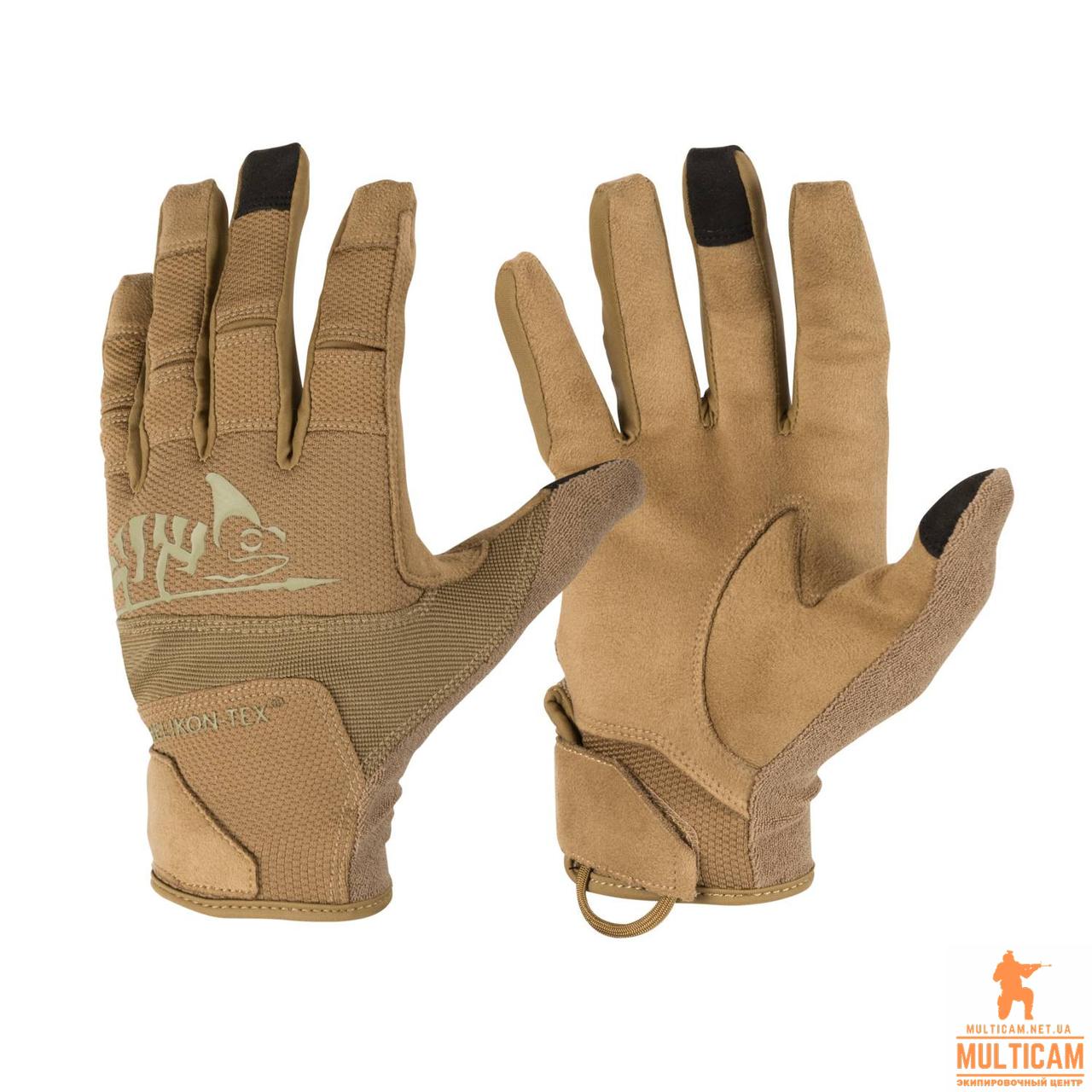 Перчатки Helikon-Tex® Range Gloves® - Coyote/Adaptive Green