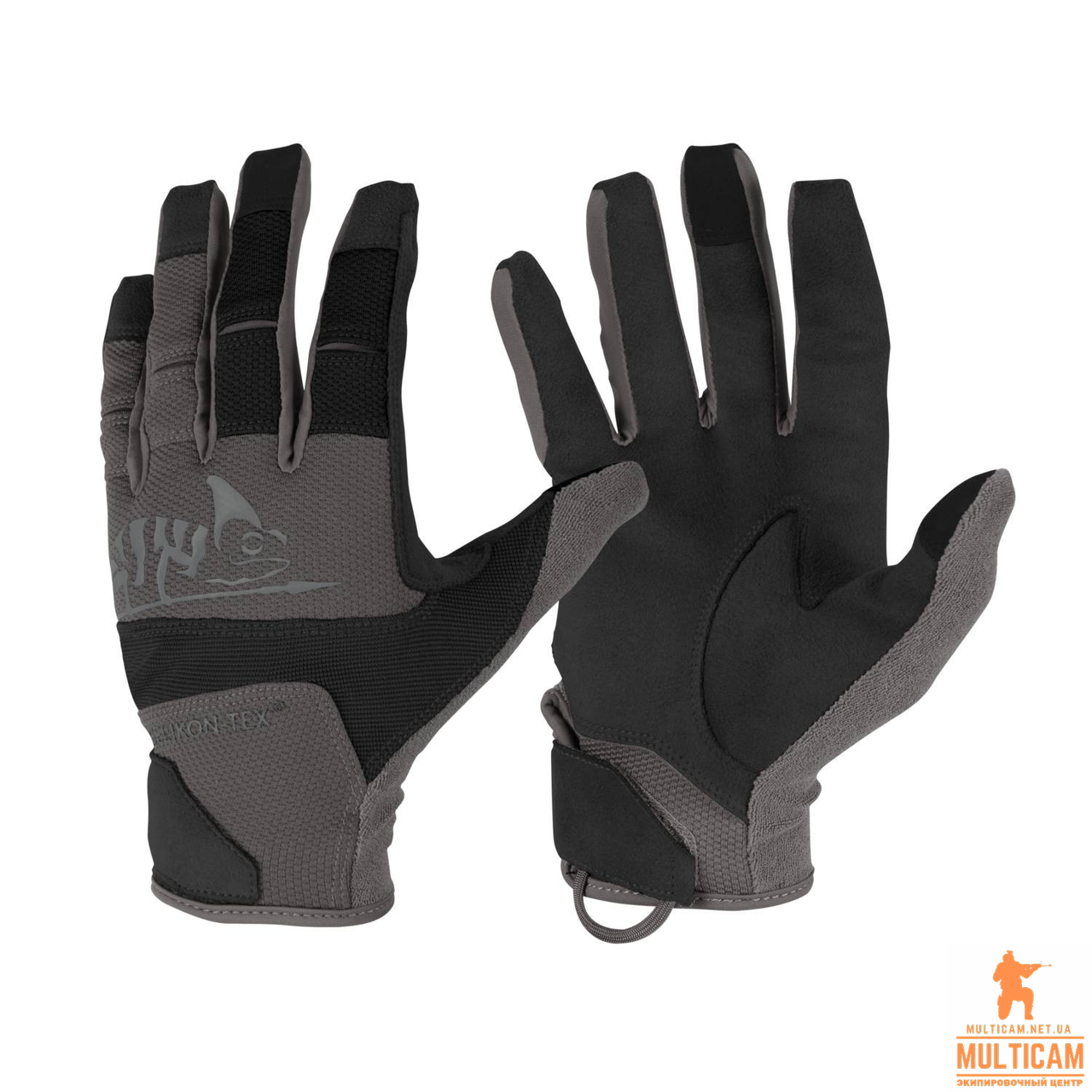 Перчатки Helikon-Tex® Range Gloves® - Black/Shadow Grey