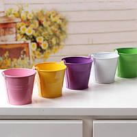 Декоративное ведерко Mini Pail Bucket, металлическое 7.5 см