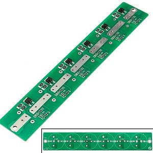 BMS плата заряда защиты 6 ионисторов суперконденсаторов 2.7В 100-500Ф