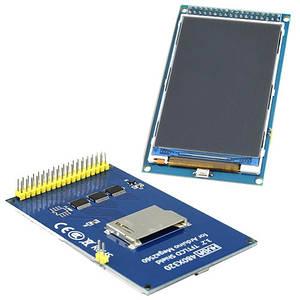 LCD TFT 3.2 дисплей 480x320, SD слот, Arduino Mega Due