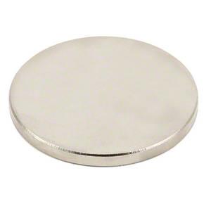 Магнит неодимовый дисковый 50x5мм N35 сильный