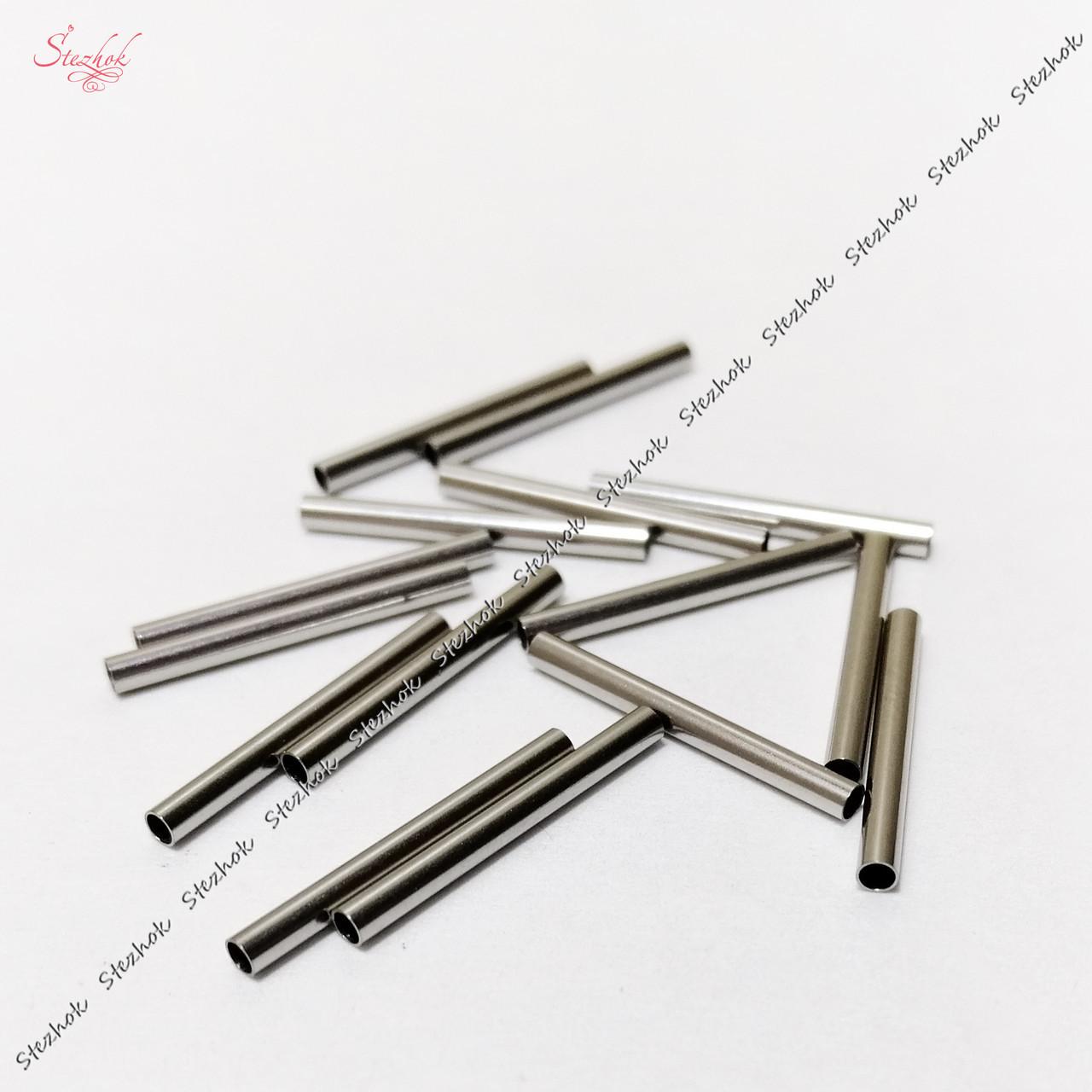 Металлический разделитель трубка 25 мм из нержавеющей стали для рукоделия