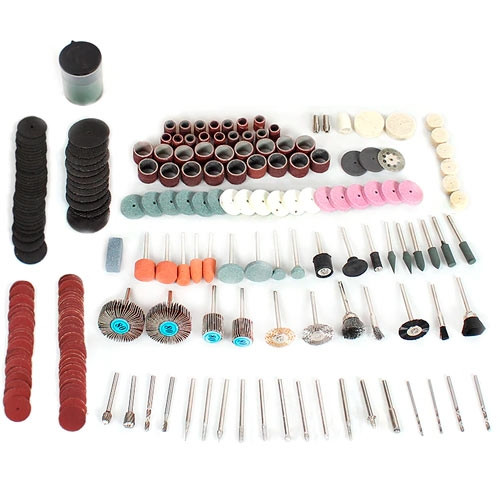 Набір з 248 насадок для гравера дремеля бормашини Dremel