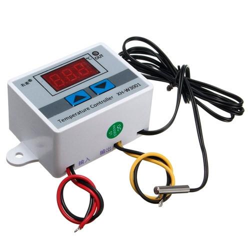 Терморегулятор термостат цифровой XH-W3001 -50~110С 220В 1500Вт