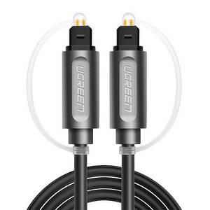 Оптический аудио кабель Toslink 2м OD4.2 Ugreen AV122