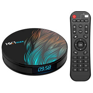 Медиаплеер Android 9.0 Smart TV Box Rockchip RK3328 4/64ГБ Vontar HK1 Max