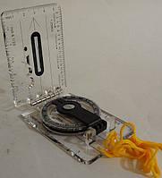 Компас рідинний планшетний на лінійці DС40-2, фото 1