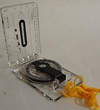 Компас рідинний планшетний на лінійці DС40-2