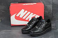 Мужские кроссовки в стиле Nike Air Force, черные 44 (28,3 см)