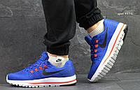 Мужские кроссовки в стиле Nike, синие 40 (25,3 см)