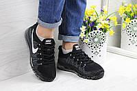 Женские кроссовки в стиле Nike Air Max 2017, черные 39 (24,5 см)