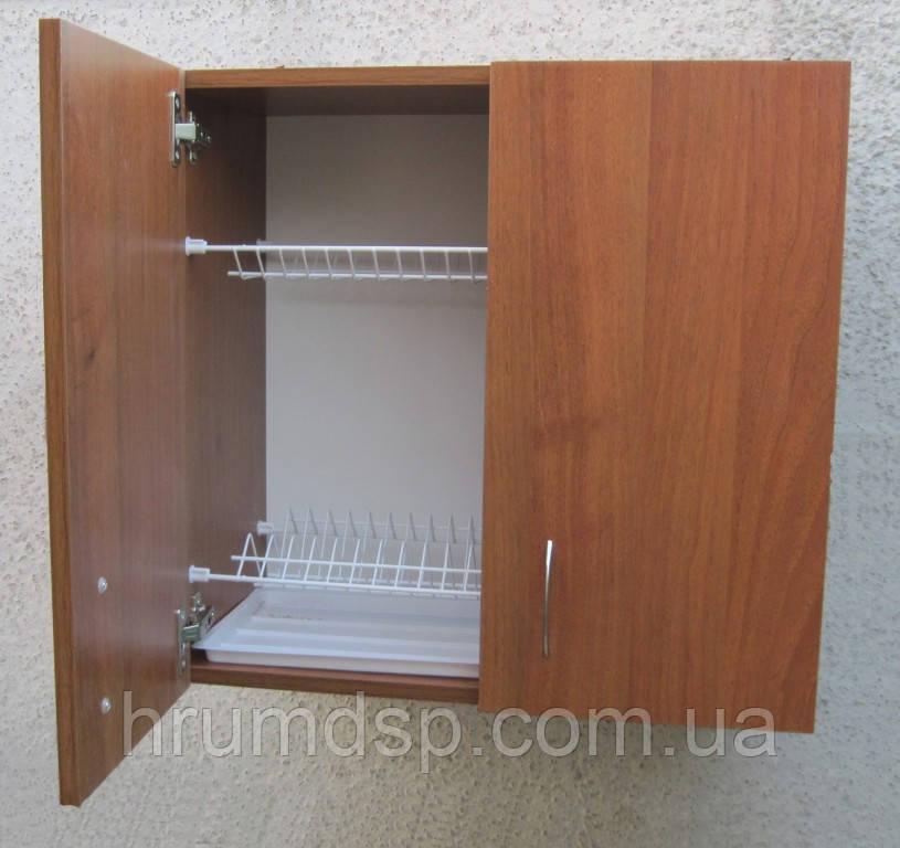 Сушка для посуды 60см в шкафу с петлями