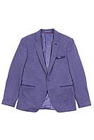 Мужской пиджак Emporio Armani с принтом внутри, slim fit