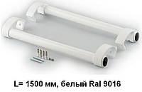 Ручка дверна пряма 1500 мм, білий, Ral 9016.